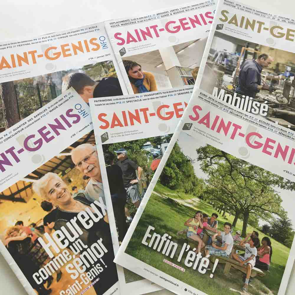 Saint-Genis Info, version 2016